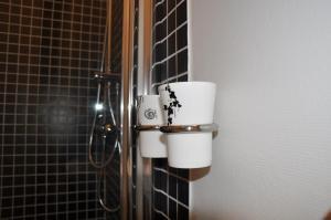 Ett badrum på Spånhults Herrgård Hotel