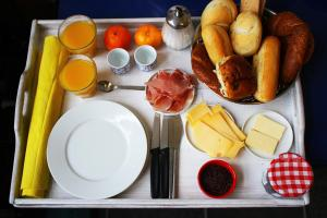 Ontbijt beschikbaar voor gasten van Bed & Breakfast Walenburg
