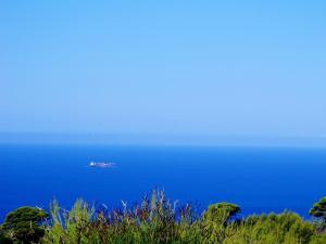 Γενική θέα στη θάλασσα ή θέα στη θάλασσα από  αυτό το θέρετρο