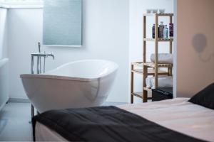 Ванная комната в Hotel Koruna