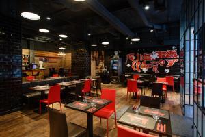 Un restaurante o sitio para comer en Danubius Hotel Erzsébet City Center