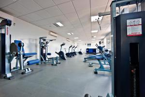 O centro de fitness e/ou as comodidades de fitness de Hotel Continental Luanda
