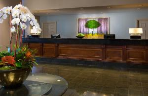 The lobby or reception area at The Paramount Hotel