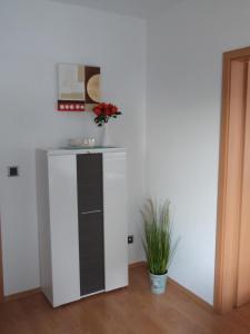 Küche/Küchenzeile in der Unterkunft Wohnung im Zentrum des Ruhrgebiets