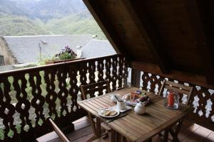 A general mountain view or a mountain view taken from the guesthouse
