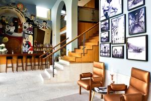 De lobby of receptie bij Pestana Vintage Porto Hotel & World Heritage Site