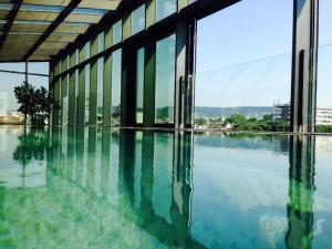The swimming pool at or near Graffit Gallery Design Hotel