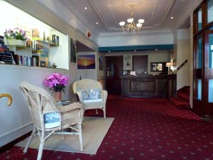 The lobby or reception area at The Dundonnell Hotel