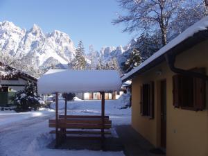 Camping Castelpietra durante l'inverno