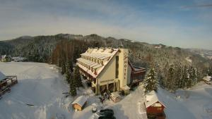 Ski Hotel during the winter