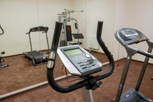 The fitness center and/or fitness facilities at Boutique Hotel Kristály