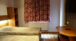 Cama o camas de una habitación en Sleep Well Youth Hostel