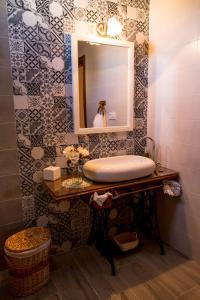 Un baño de Hotel Rural Sisapo