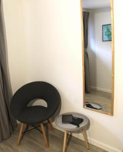 A seating area at Jansvej Homestay