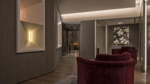 The lobby or reception area at Fendi Private Suites