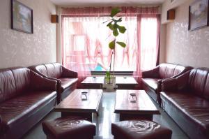 Кът за сядане в Хотел Думанов