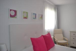 A seating area at Apartment Elena