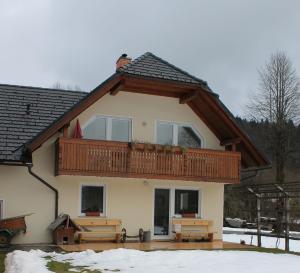 Apartments Kovačič during the winter
