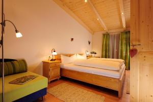 Cama o camas de una habitación en Hoarachhof