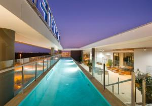 The swimming pool at or near Novotel Brisbane Airport