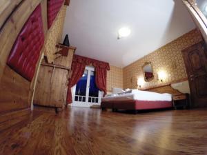 Cama o camas de una habitación en Hotel Post Victoria