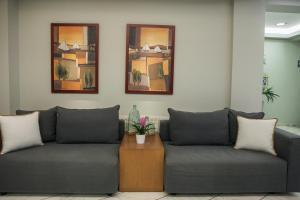 Χώρος καθιστικού στο Ξενοδοχείο Κρόνος