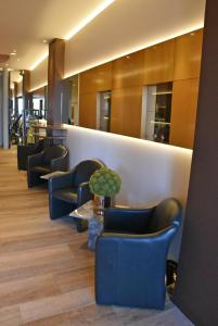 The lobby or reception area at Hotel Riant-Séjour (Adults Only)