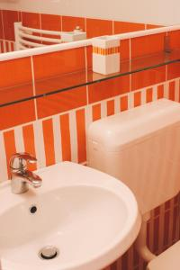 A bathroom at Apartments Sasha