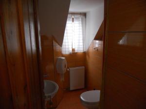 Koupelna v ubytování Penzion Kamzík