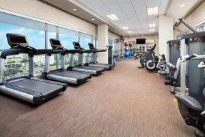 The fitness center and/or fitness facilities at The Westin Austin Downtown
