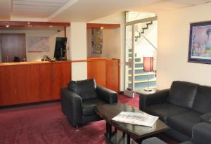 The lobby or reception area at Hotel Elbroich
