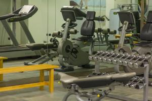 The fitness center and/or fitness facilities at Hotel Futura Centro Congressi