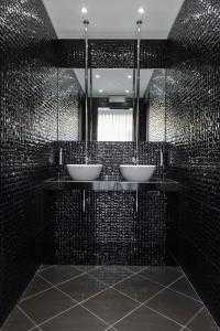 A bathroom at Corte Ongaro Hotel