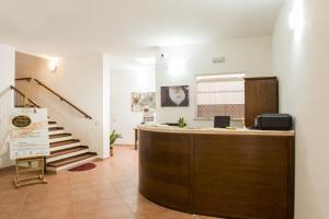 The lobby or reception area at Albergo Diffuso Il Mandorlo