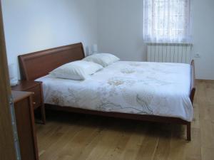 Postelja oz. postelje v sobi nastanitve House Dolenja Trebuša
