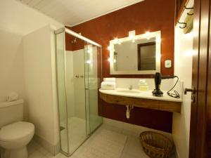 Um banheiro em Pousada Taipu de Fora