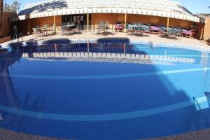 The swimming pool at or near Hotel La Vallée