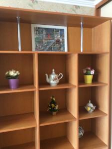 Лобби или стойка регистрации в Apartments on Ostrovskogo 1