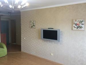 Телевизор и/или развлекательный центр в Apartments on Ostrovskogo 1