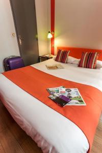 Cama ou camas em um quarto em Smart Place Gare du Nord by Hiphophostels