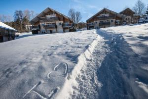 L'établissement Les Adrets en hiver