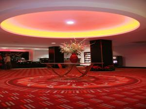 The lobby or reception area at The Dragon Hotel