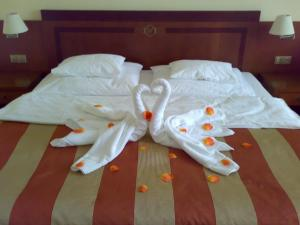 Letto o letti in una camera di Hotel Villa