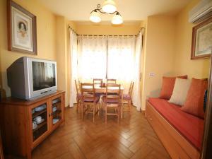 Zona de estar de Apartamentos Rurales La Platea