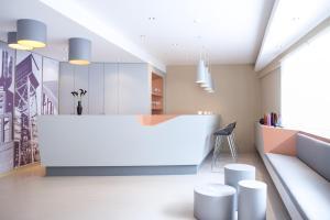 A bathroom at The Grey Design Hotel
