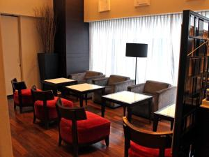 The lounge or bar area at Hotel Gracery Ginza