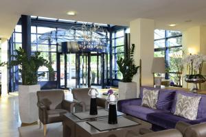 Lobby/Rezeption in der Unterkunft Best Western Hotel Der Föhrenhof