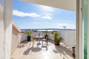 Balkón nebo terasa v ubytování Apartments Kike