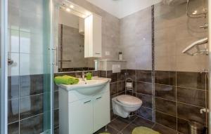 Koupelna v ubytování Apartments Kike