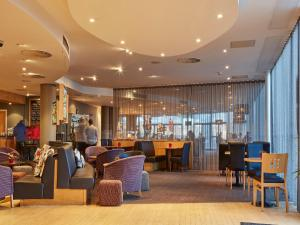 A restaurant or other place to eat at Future Inn Cardiff Bay